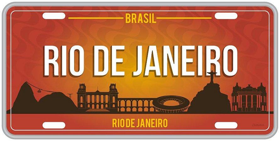 Placa Decorativa RIO DE JANEIRO