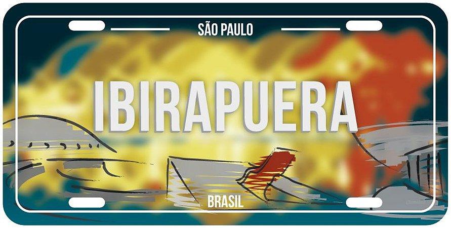Placa Decorativa SP - Ibirapuera