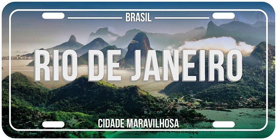 Placa Decorativa RJ - RIO DE JANEIRO (foto)