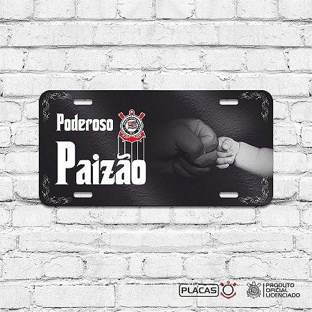 9cb79e44c2 Placa Decorativa Corinthians - Poderoso Paizão - Cromarca Store