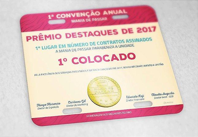 PLACA DE MOTO RANKING 2017 - MANIA DAY 2017 - Mania de Passar