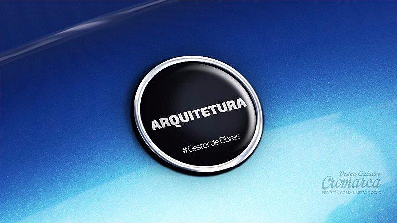 Adesivo Cromado - Profissões - Arquitetura - Portal Gestor de Obras