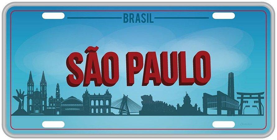 Placa Decorativa SÃO PAULO
