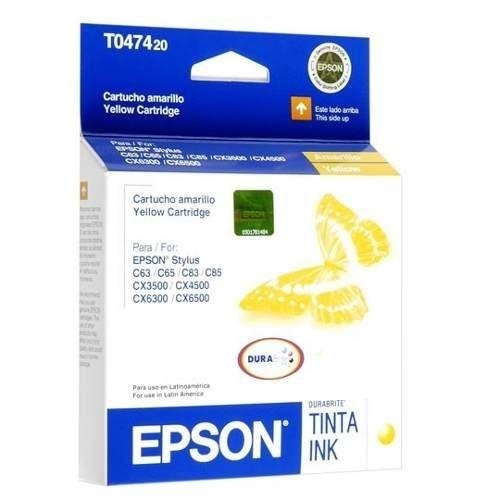 Cartucho de Tinta Epson T047420 Amarelo Original