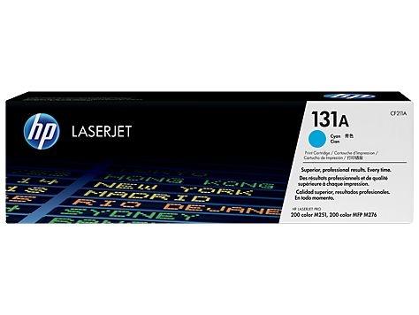 Cartucho de toner LaserJet ciano HP 131A original (CF211A)