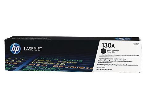 Toner HP 130A Preto Laserjet Original (CF350AB) Para HP Laserjet M176n, M177fw CX 1 UN