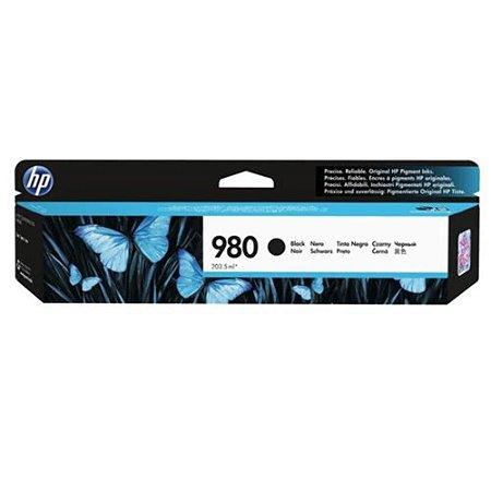Cartucho de tinta preto HP 980 original ( D8J10A )