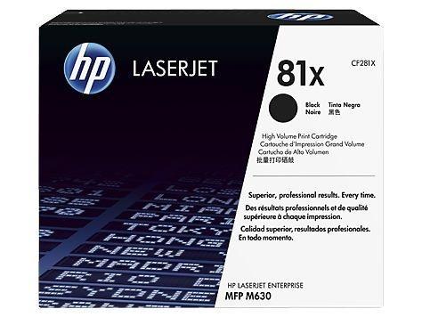 Toner HP LaserJet  81X Preto CF281X/XC Original