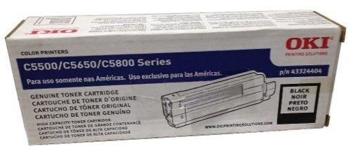 Cartucho Toner OKI C5500 / C5650 - Preto - 5K - 43324404