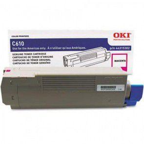 Cartucho Toner OKI C8800 Magenta 6K 43487734 Original