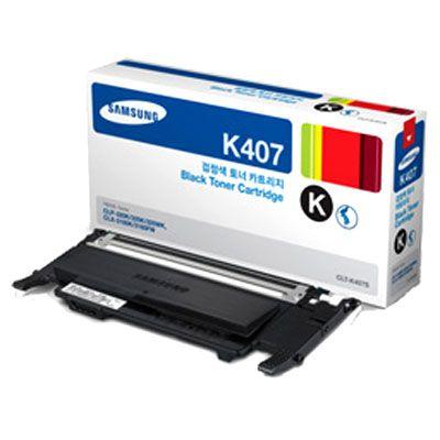 Cartucho de Toner Samsung Preto CLT-K407S Original