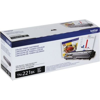 CARTUCHO TONER BROTHER TN-221BK- PRETO