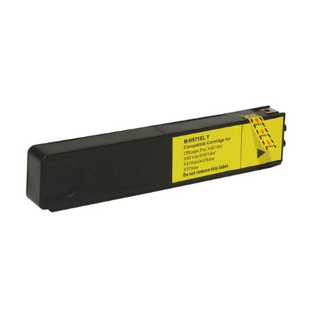 Cartucho de Tinta HP 971XL CN624AM - Amarelo - Mecsupri