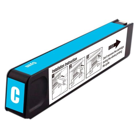 Cartucho de Tinta HP 971XL - CN626AM - Ciano - Mecsupri