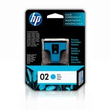 Cartucho HP 02 ciano 4ml c8771wl Original