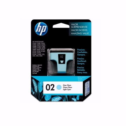 Cartucho HP 02 Azul Claro 5,5ml C8774WL Original
