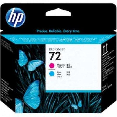 Cabeça de impressão HP 72 magenta/ciano C9383A Original