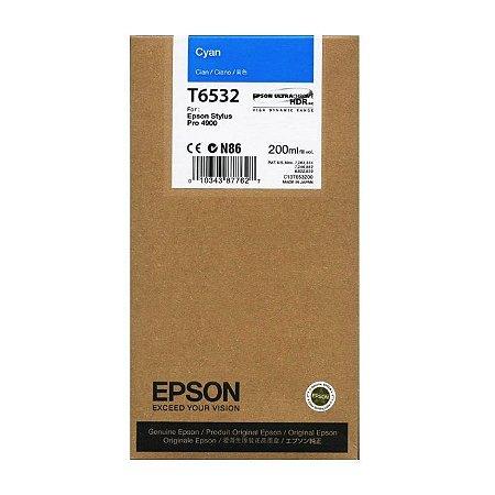 Cartucho de Tinta Epson T6532 Cyan 4900 Original