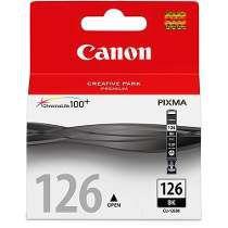 Cartucho Canon preto CLI126BK Elgin CX 1 UN