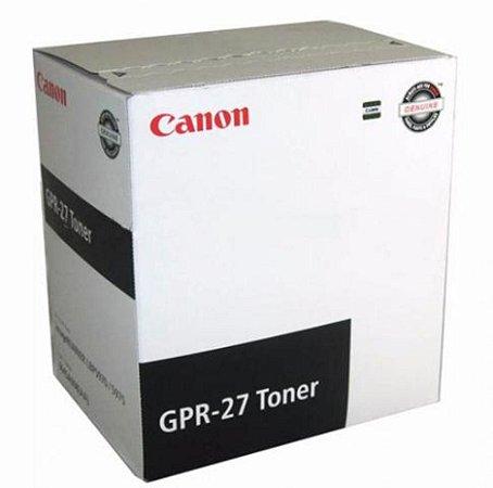 Toner Canon Gpr 27 Original 9645a008aa Preto