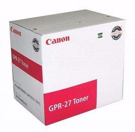 Toner Canon Gpr 27 Magenta 9643a008aa