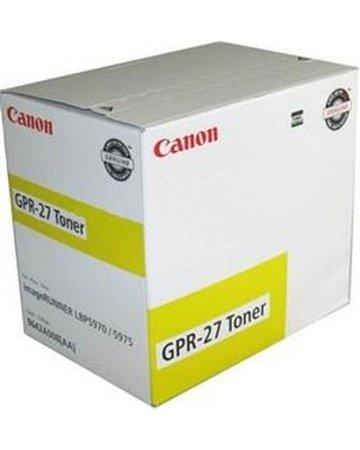 Toner Canon GPR27 Amarelo 9642a008aa Original