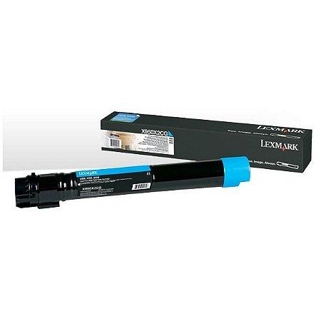 Toner Lexmark X950 X950X2CG Ciano Original