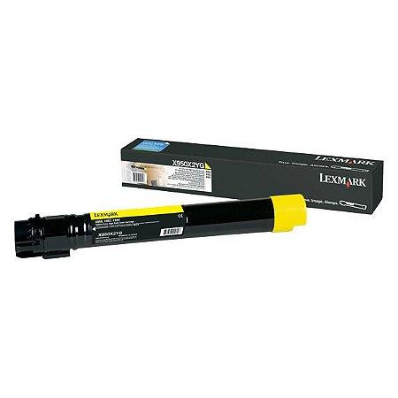 Toner Lexmark X950 X950X2YG Amarelo Original