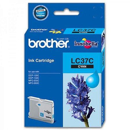 Cartucho de Tinta Brother Ciano LC37C Original