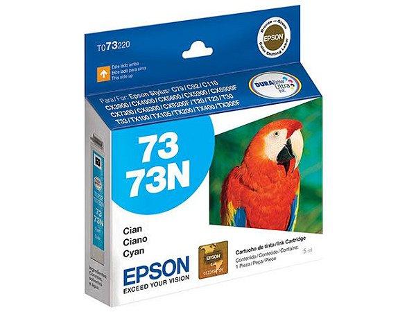 Cartucho Tinta Epson Durabrite Ultra 73N - T073220 Ciano Original