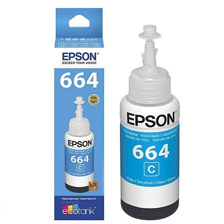 Refil p/Ecotank Cian T664 Epson cx 1 UN - T664220 Original