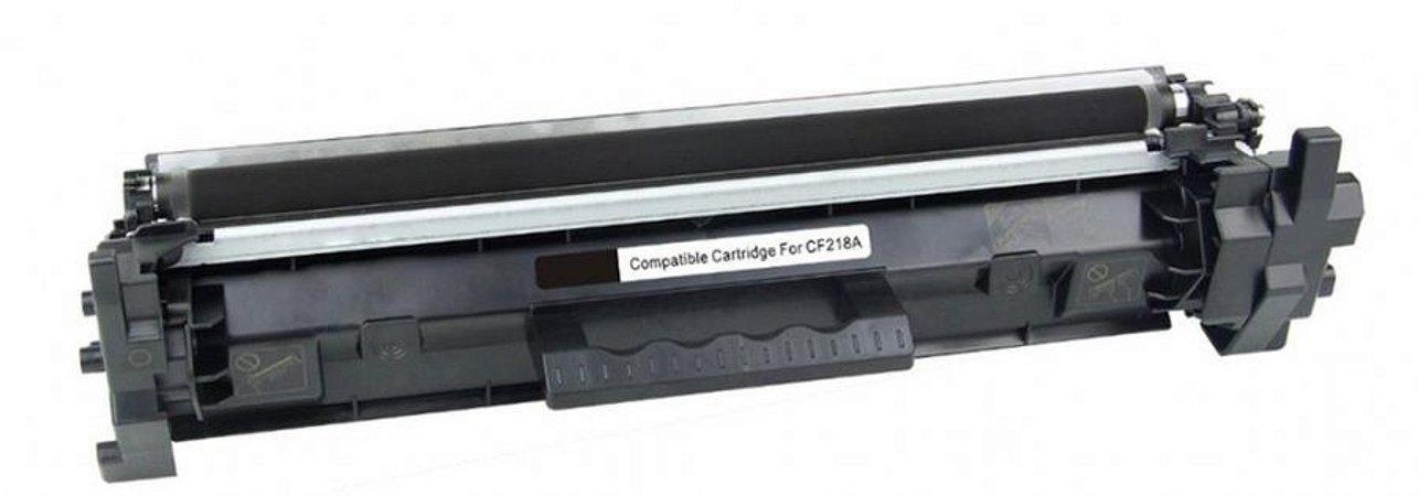 Cartucho de Toner HP  CF218A (18A)- Preto -  Compatível /Mecsupri