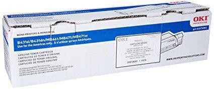 Cartucho de Toner Okidata Preto 44574901 Original