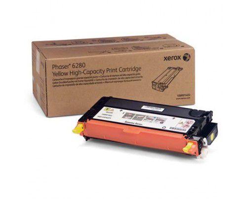 Cartucho de Toner Xerox Phaser 6280 Amarelo 106R01402 5,9K Original