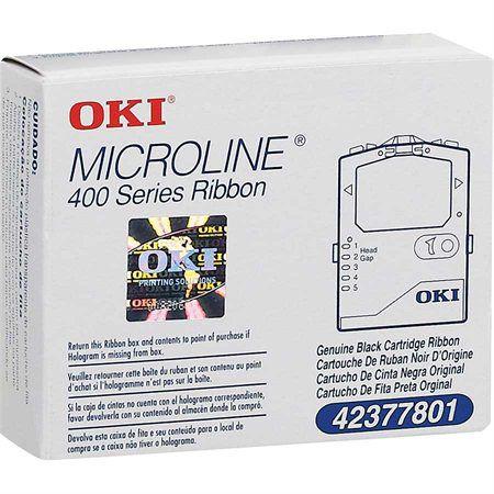 Fita para Impressora Microline Okidata 42377801 Black Original