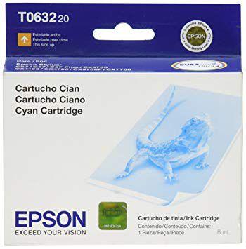 Cartucho de Tinta Epson T063 T063220 Ciano Original