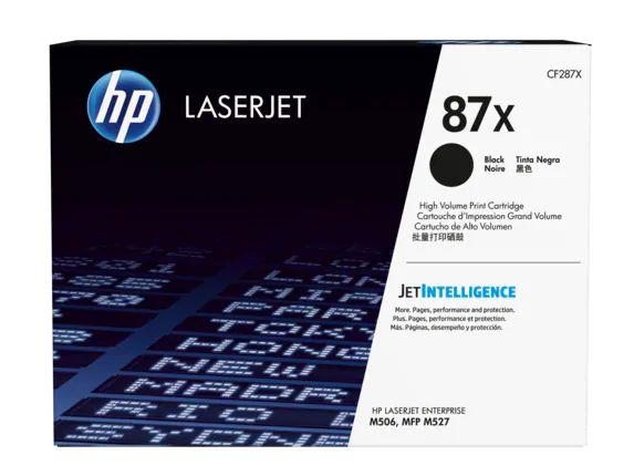 Toner HP LaserJet 87X preto CF287XC/ CF287XZ Original