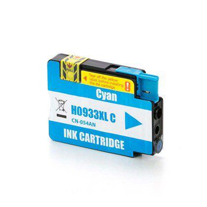 Cartucho de Tinta Mecsupri Compatível com HP 933XL Ciano CN054AL
