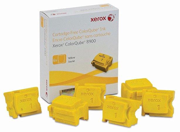Cera Yellow 8900 Xerox - 108R01024 Caixa c/ 6 unidades
