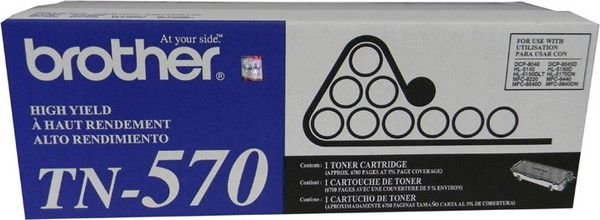 Cartucho Toner Brother TN-570 Preto