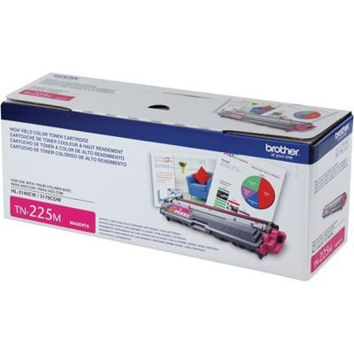 Cartucho de Toner Brother Magenta TN225M Original