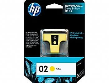 Cartucho HP 02 Yellow C8773WL Original