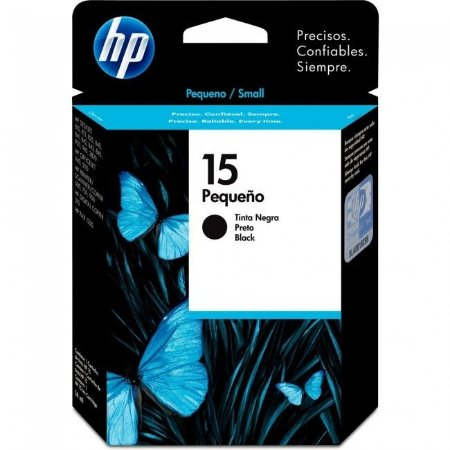 Cartucho HP 15 C6615NL / C6615GL / C6615UL Preto Original 14 ml