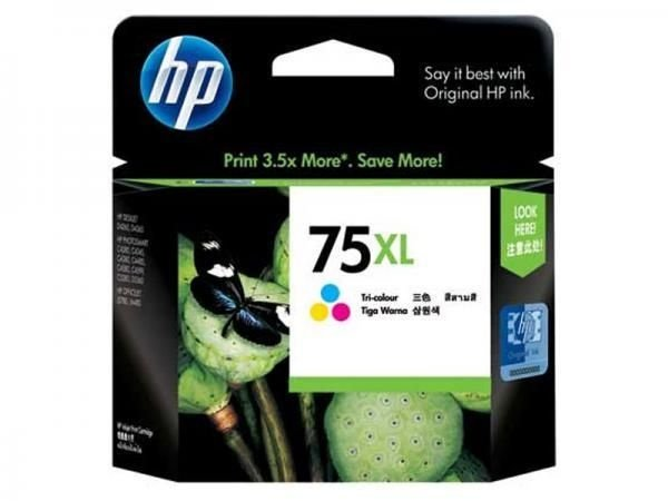 Cartucho HP 75xl tricolor 17ml cb338wl HP CX 1 UN