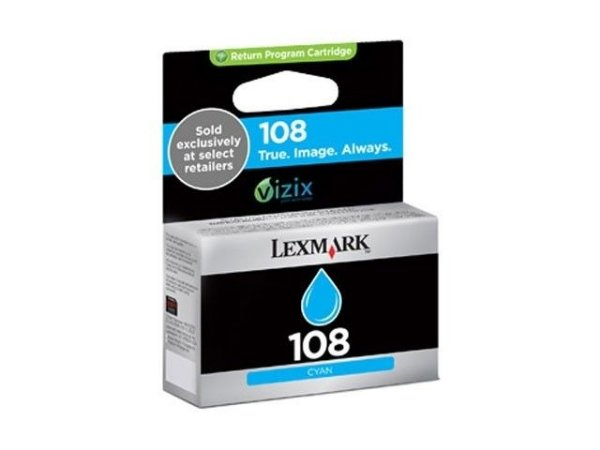 Cartucho de Tinta Lexmark 108 Ciano 14N0337 Original
