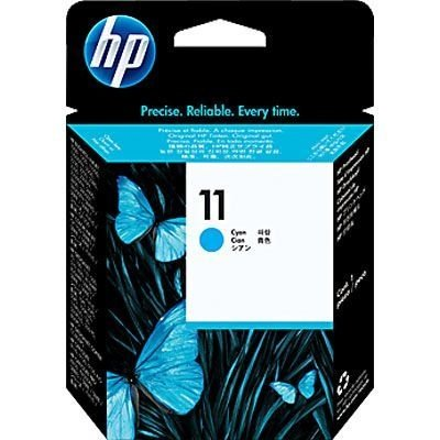 Cabeça de impressão 11 ciano 8ml c4811a HP CX 1 UN