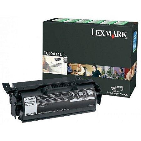 Cartucho de Toner Lexmark T650A11L - Original