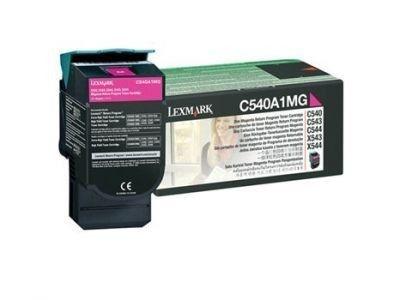 Cartucho de Toner Lexmark C540 Magenta C540A1MG Original