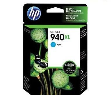 Cartucho HP 940XL ciano C4907AL CX 1 UN Original