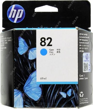 Cartucho HP 82 cyan 69ml c4911a HP CX 1 UN